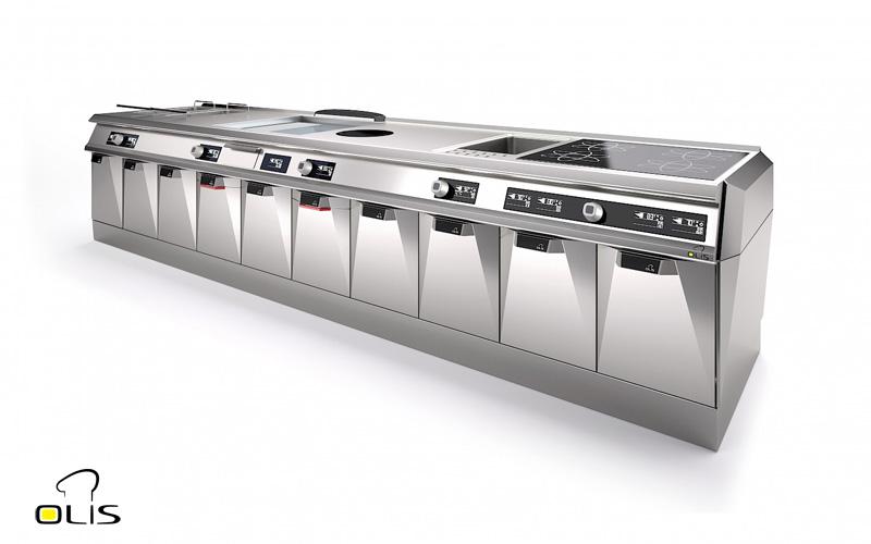 Cucine OLIS da COFFEE SERVICES - Tecnica e tecnologie per la ristorazione di Paolo Raviglione s.a.s. Via Mombarone, 7/2 Burolo (To)