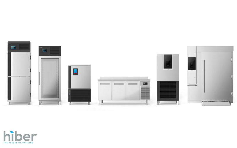 Linea Gelateria e Pasticceria Armadi Refrigeranti HIBER da COFFEE SERVICES - Tecnica e tecnologie per la ristorazione di Paolo Raviglione s.a.s. Via Mombarone, 7/2 Burolo (To)