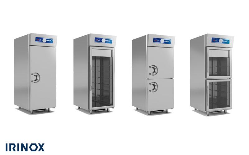 Linea Gelateria e Pasticceria Armadi Refrigeranti IRINOX da COFFEE SERVICES - Tecnica e tecnologie per la ristorazione di Paolo Raviglione s.a.s. Via Mombarone, 7/2 Burolo (To)
